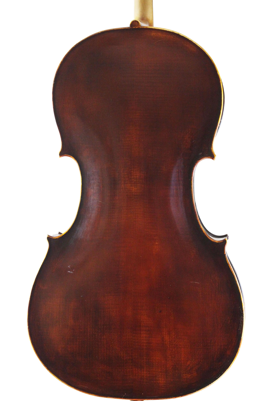 German Cello Back 1920