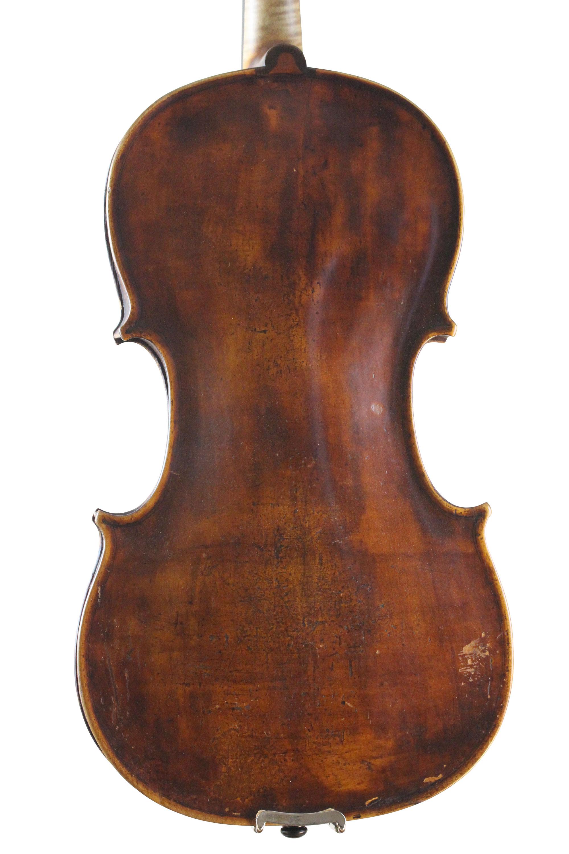 German Viola back 1800's