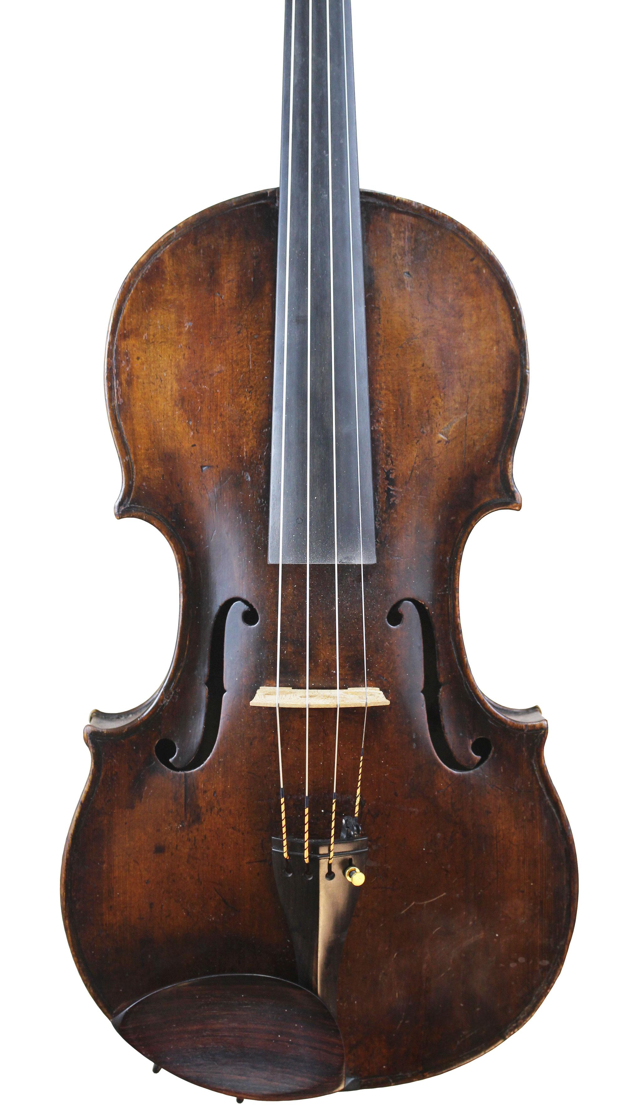 Tyrolean Viola Front 1790